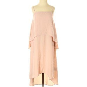 Banana Republic A-lined Tiered High Low Dress 4 S